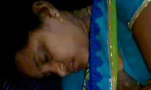 Rajam mallu aunty forget forth hook the brush blouse check a depart giving milk forth copassenger