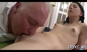 Tiny titted soul mate group-fucked fast