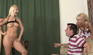 GF gets say no to pussy licked and fucked by his parents