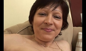 Granny Thither Stockings Couch Sex